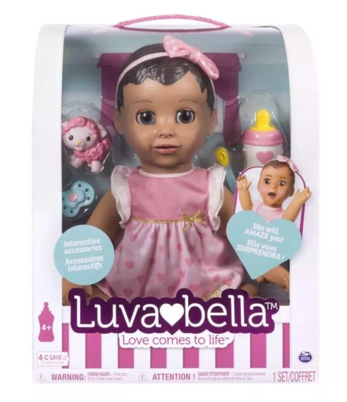 ??NEW LUVABELLA Responsive Brunette ??AUTHENTIC 2017 Baby Doll ?? Lovabella