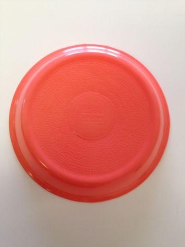 Glasbake Coral Pinkie Plate 9