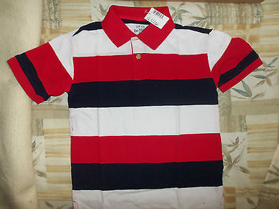 The Children's Place Boys Americana Striped Collared Shirt-5/6