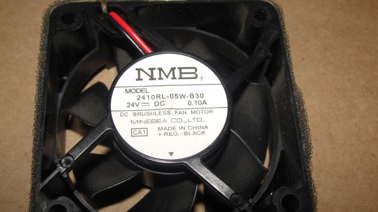 NMB 2410RL-05W-B30 2410RL05WB30 24V DC 0.10A  COOLING FAN