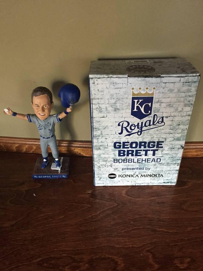 GEORGE BRETT SGA 2017 Bobblehead Kansas City Royals Hall of Fame 3000 PRESALE