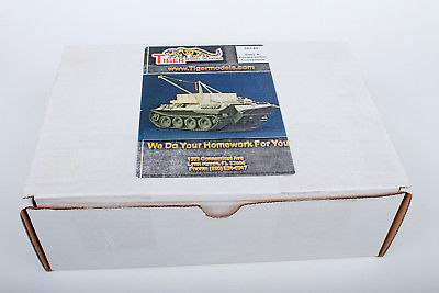 1/35 Tiger Model Designs Bergepanther A # 16140 resin RARE out of production!