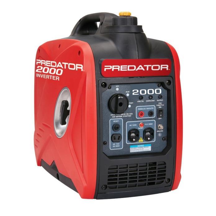Predator 2000 Watt Super Quiet Inverter Generator We Ship to Puerto Rico