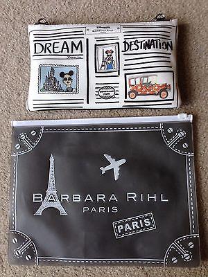 Disneyland Paris Disney Barbara Rihl Purse Bag Clutch Dooney