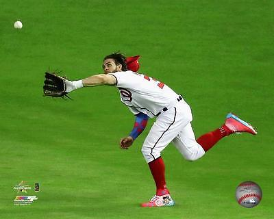 Bryce Harper Washington Nationals hair flip All Star game catch 8x10 photo