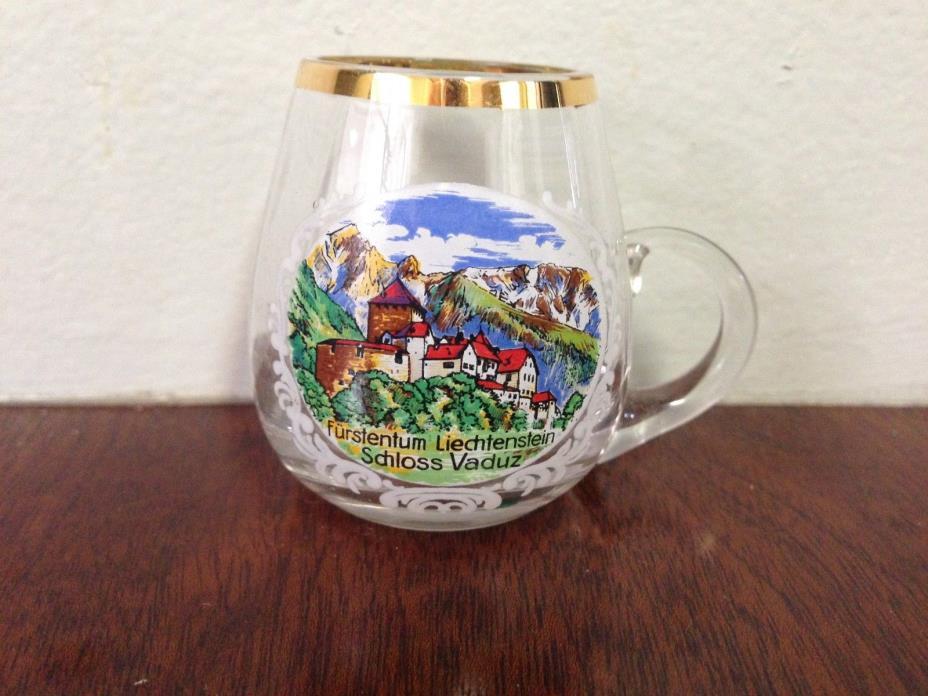 Small Shot Glass With Handle From Liechtenstein