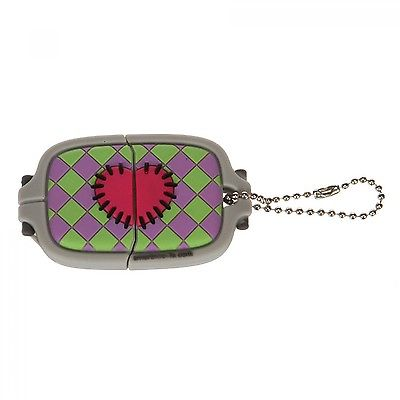 PURPLE EMBROIDERY HOOP SHAPED USB FLASH DRIVE 4GB, MAC & PC Compatible NEW