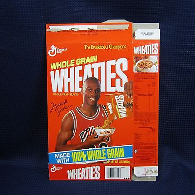 Wheaties Michael Jordan Series #86z 10/90 Cereal Box