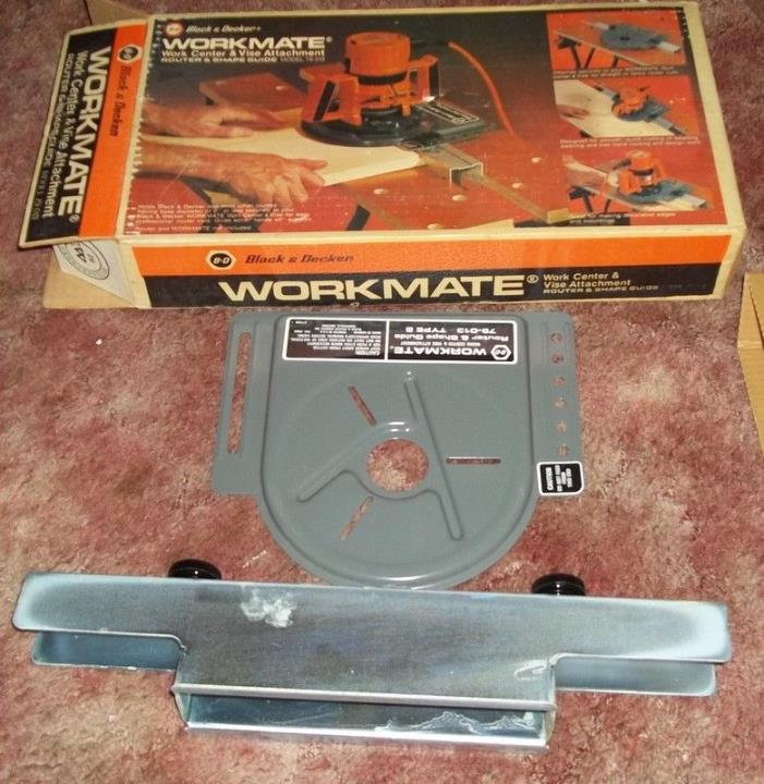 black and decker workmate work center and vise attachment router and shape guide