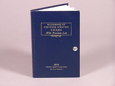 HandBook of United States Coins 36th Edition by R.S. Yeoman Excellent Condition