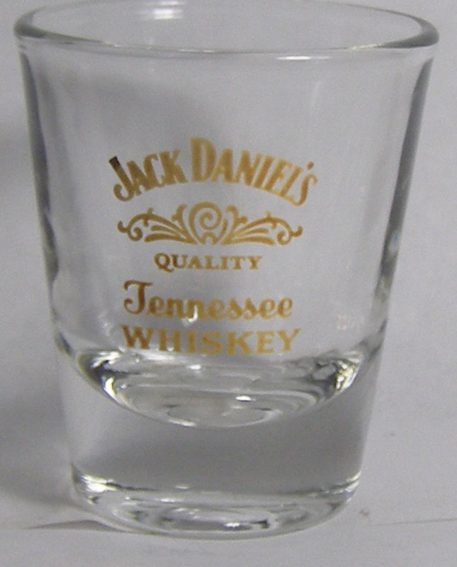 Jack Daniel's Quality Tennessee Whiskey Shot Glass #2548