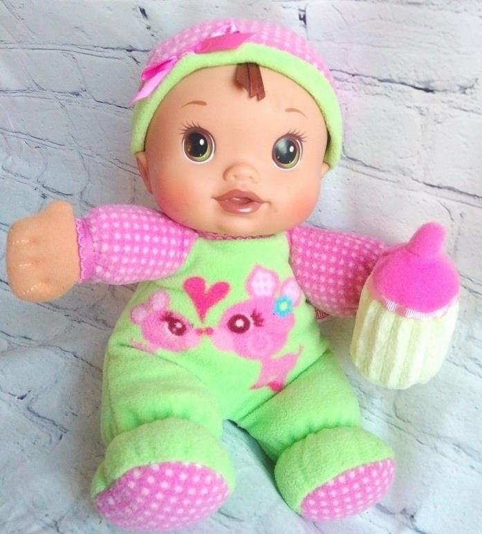 Baby Alive Soft Sips and Cuddles Plush Doll 2009 Vinyl Plush