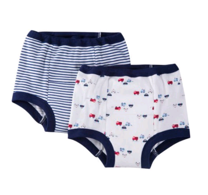 Gerber Toddler Baby Boys 2-Pack Firetruck Training Pants Size 3T Police Cars