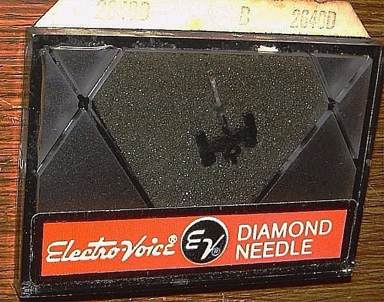 Stereo Diamond PHONOGRAPH Needle EV2640D for EV 5064 5078 5096, N405-7d 376-D7