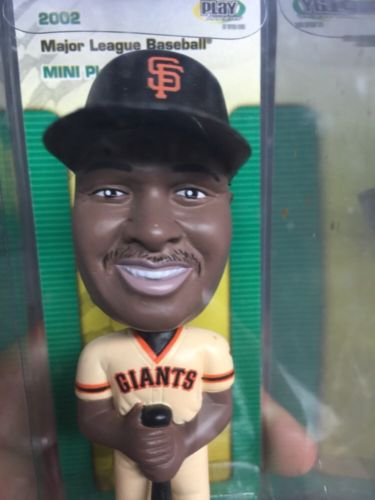 Barry Bonds Bobble Head Lot Of 3 ... 4in Collectibles Giants #25 San Fran