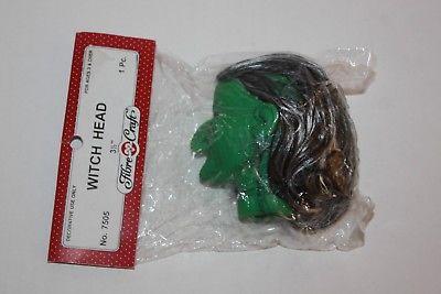 Fibre Craft Green With Doll Head NIP
