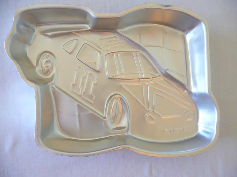 1997 Wilton Race Car #11 Cake Pan, Birthday