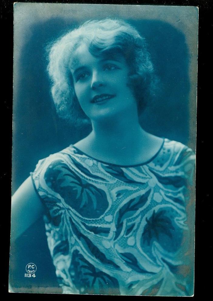 card looks like a Photograph-lady-lot of 3-happy fashion shots-1923-24