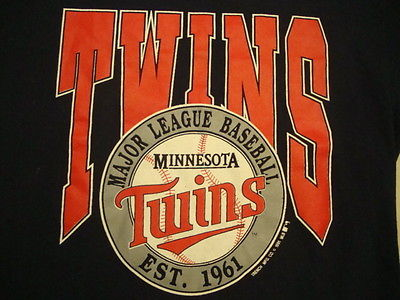 Vintage Minnesota Twins MLB Baseball T Shirt XL