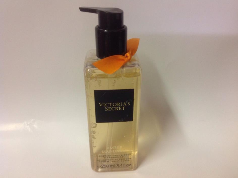 Victoria secret Amber mandarin fragrance hand & body cleaning gel 250 ml/8.4 fl