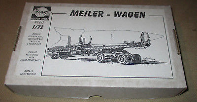 Planet Models Meiler Wagon 1:72 Resin Model Kit MV 013 Photo-Etched for Missile