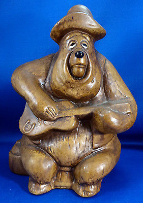 Vintage Walt Disney Productions BIG AL Country Bear Jamboree Ceramic Bank