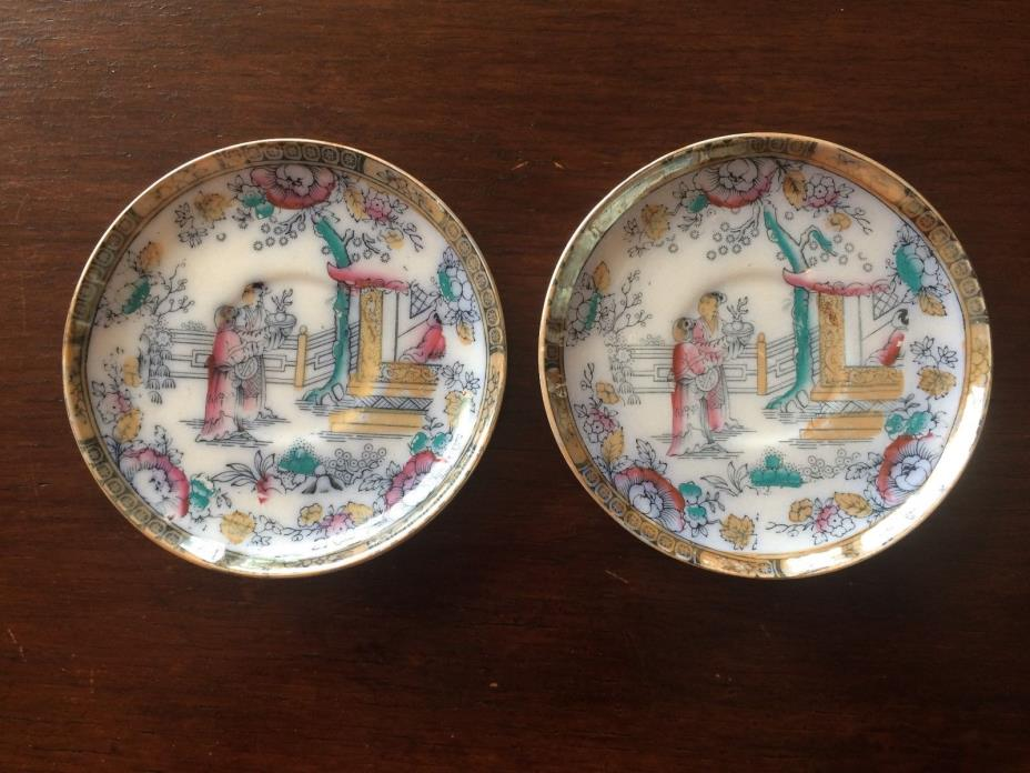 PAIR OF BW & CO. ENGLISH PORCELAIN 1790 5