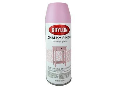 Krylon Chalky Finish 12oz Bonnet Pink