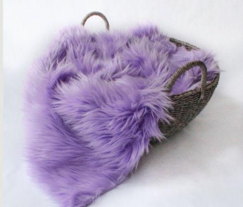 Faux Fur Lavender 18