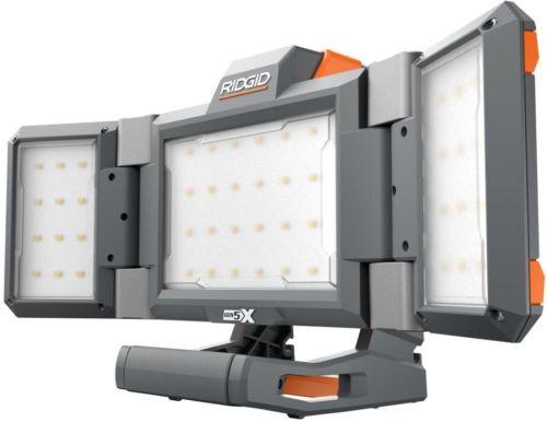 RIDGID Hybrid GEN5X Cordless Folding Panel Light (Tool-Only)