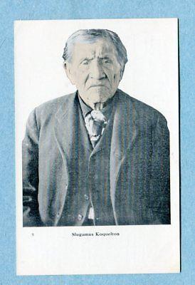 A6821 Postcard Picture of Slugamus Koquelton