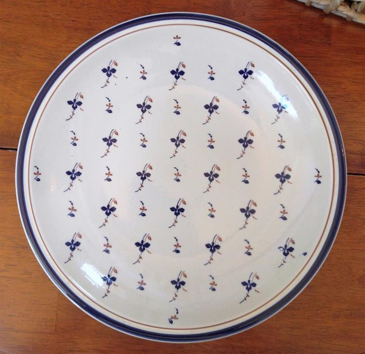 Epoch Antique Bouquet A812 Pattern, Large Plate Charger (11 1/2
