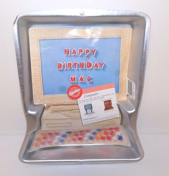 Wilton 1997 Computer Cake Pan Mold #2105-1519