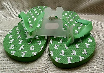 Walt Disney World Mickey Mouse Ladies Flip Flop Sandals Large Size New w/ Tags