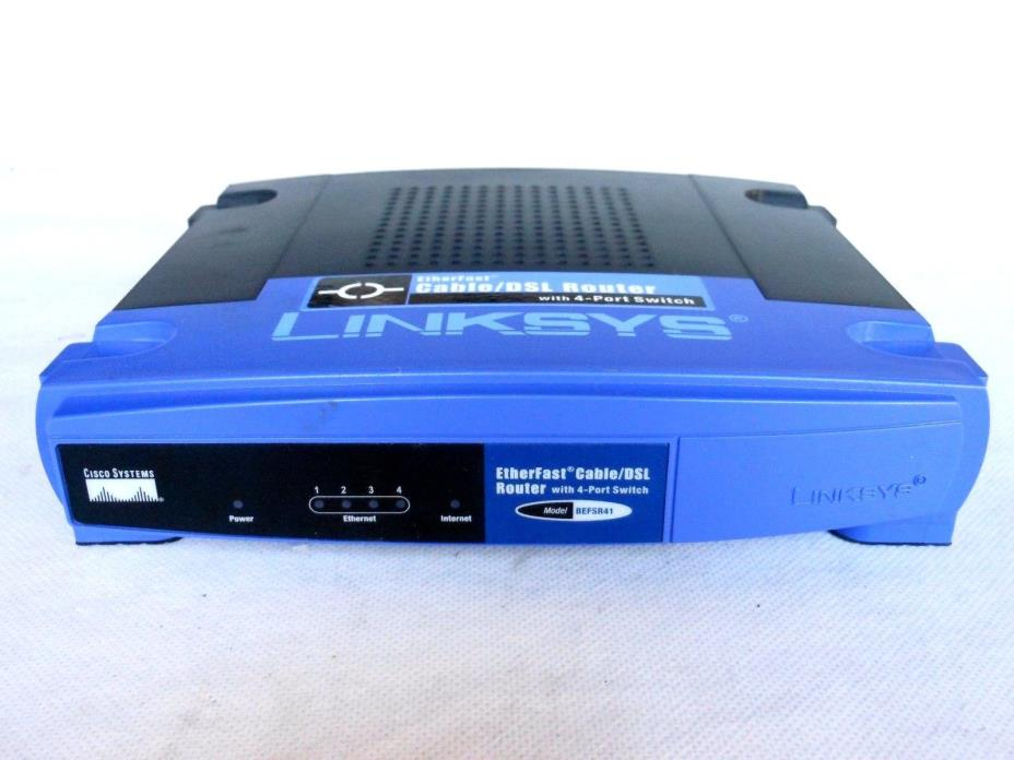 Linksys Cable/DSL Router BEFSR41