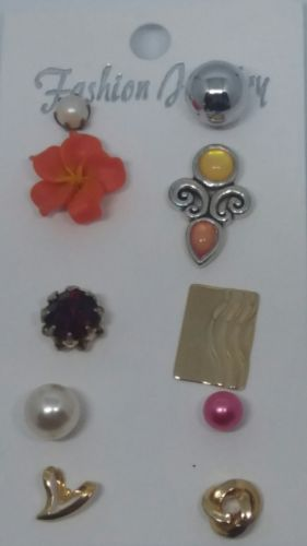 Post-back Stud Pierced SINGLE EARRING Mixed Lot #A759