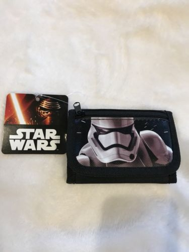 Authentic NWT Disney Star Wars Trifold Wallet