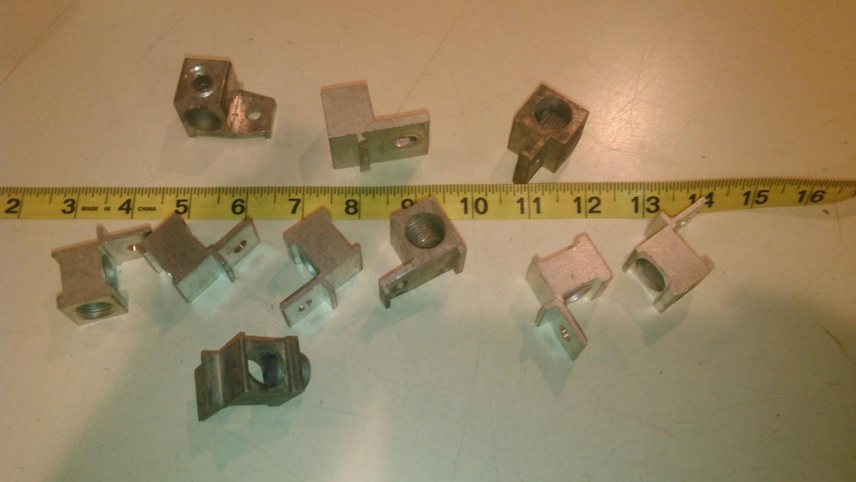 Mechanical Lug Connector (10 units)  - 1 hole aluminum or copper. #6- 4/0.