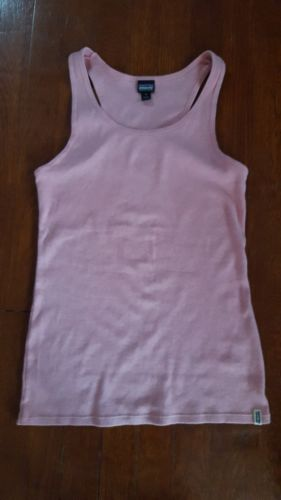 PATAGONIA Women's Organic Cotton Pink Tank Top Medium