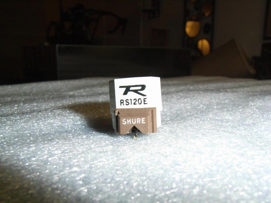 Rare Vintage Shure Realistic RS120E Phono Cartridge/Good N32E Elliptical Stylus!