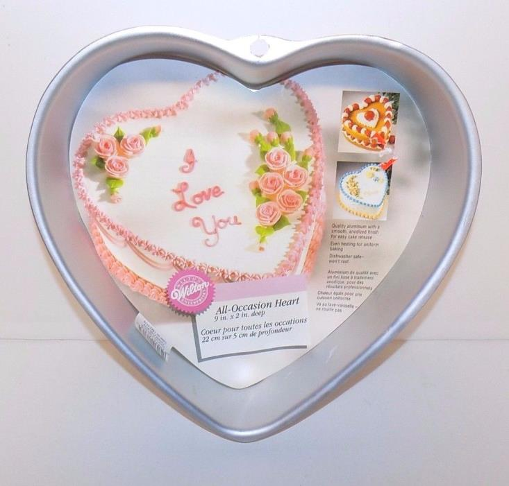 Wilton 1998 All-Occasion Heart Cake Pan Mold #2105-5176