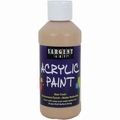 Acrylic Paint 8oz Peach 042229223877