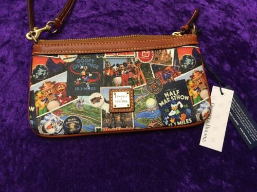 RunDisney Walt Disney World Marathon Weekend 2018 Dooney And Bourke Wristlet #2