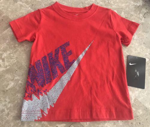 Nike NWT Red T-Shirt Boys 2T