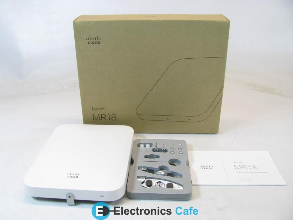 Cisco MR18-HW Wireless Access Point *Specialty/Collectible*