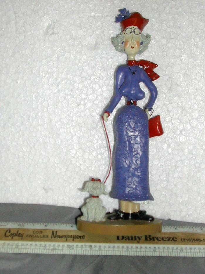 RARE Vintage SANDY GERVAIS Victorian Figurine EARLY ARTISTRY Long Discontinued