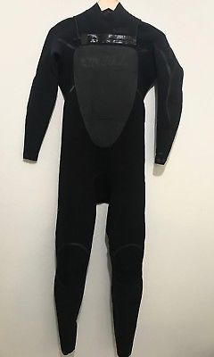 O'Neill Mens Full Wetsuit Size Small Mutant 4/3 Chest Zip S