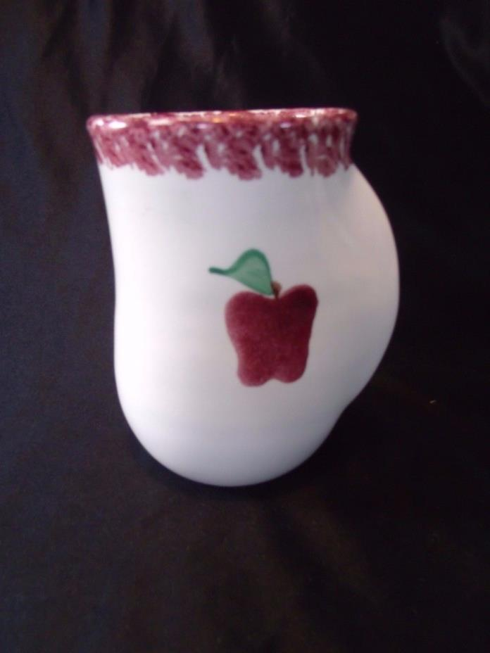 2002 - NEHER Clay in Motion POTTERY Apple SPONGEWARE Left Handed MUG