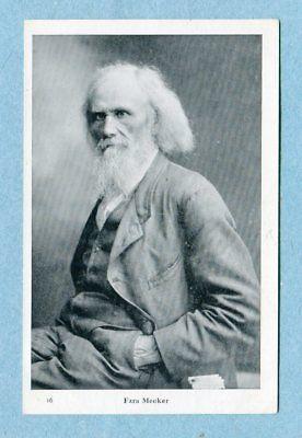 A6823  Postcard   Picture of  Ezra Meeker as Older Man