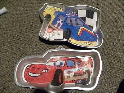 cars cake pan WILTON LIGHTENING MCQUEEN PIXAR DISNEY RACE CAR # 11